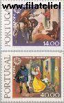 POR 1441#1442 Postfris 1979 C.E.P.T.- Geschiedenis van de post