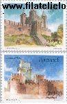 POR 1680#1681 Postfris 1986 Burchten en sloten