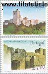POR 1752#1753 Postfris 1988 Burchten en sloten