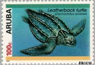 Aruba AR 167  1995 Schildpadden 100 cent  Gestempeld
