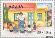 Aruba AR 238  1999 Kinderzegels 80+40 cent  Gestempeld