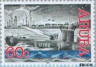 Aruba AR 288  2002 Historische serie 60 cent  Gestempeld