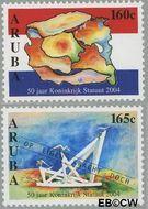 Aruba AR 330#331  2004 Statuut  cent  Gestempeld