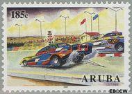 Aruba AR 338  2005 Autoracen 185 cent  Gestempeld