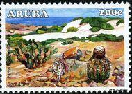 Aruba AR 371  2006 Nationaal Park Arikok 205 cent  Gestempeld
