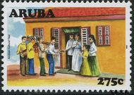 Aruba AR 395  2008 Cultureel jaar 275 cent  Gestempeld
