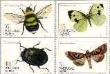 azo 365#368C Postfris 1984 Insecten