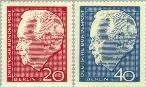 Berlin ber 234#235  1964 Lübke, Heinrich- Herverkiezing  Postfris