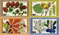 Berlin ber 607#610  1979 Bosvruchten  Postfris