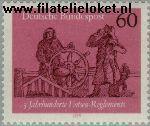 Bundesrepublik BRD 1022#  1979 Lotsen Reglements  Postfris