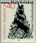 Bundesrepublik BRD 1120#  1982 Bremer Stadtmusikanten  Postfris
