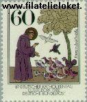 Bundesrepublik BRD 1149#  1982 Assisi, Franz von  Postfris