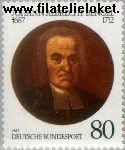 Bundesrepublik BRD 1324#  1987 Bengel, Johann Albrecht  Postfris
