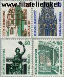 Bundesrepublik BRD 1339#1342  1987 Bezienswaardigheden  Postfris