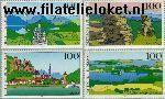 Bundesrepublik BRD 1742#1745  1994 Beelden uit Duitsland  Postfris