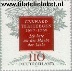Bundesrepublik BRD 1961#  1997 Tersteegen, Gerhard  Postfris