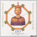 Bundesrepublik BRD 2088#  2000 Dom van Aken  Postfris