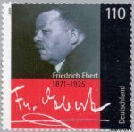 Bundesrepublik BRD 2101#  2000 Ebert, Friedrich  Postfris