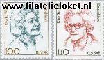 Bundesrepublik BRD 2149#2150  2000 Bekende vrouwen  Postfris