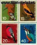 Bundesrepublik BRD 401#404  1963 Vogels  Postfris