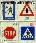 Bundesrepublik BRD 665#668  1971 Nieuwe verkeersregels  Postfris