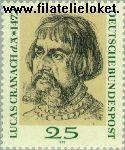 Bundesrepublik BRD 718#  1972 Cranachs, Lucas  Postfris