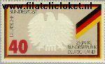 Bundesrepublik BRD 807#  1974 Bundesrepublik  Postfris