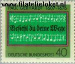 Bundesrepublik BRD 893#  1976 Gerhardt, Paul  Postfris