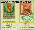 Bundesrepublik BRD 980#981  1978 Dag van de Postzegel  Postfris