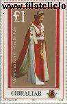 Gibraltar gib 511#  1986 Koningin Elizabeth- Verjaardag  Postfris