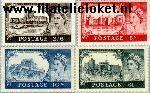 Groot-Brittannië grb 278#281  1955 Kastelen  Postfris