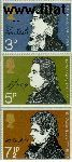 Groot-Brittannië grb 577#579  1971 Dichters  Postfris