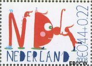 Nederland NED 2608b  2008 Laat kinderen leren 44+22 cent  Gestempeld