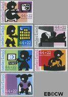 Nederland NK 2527a#2527f  2007 Kinderzegels- een veilig thuis  cent  Postfris