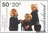 Nederland NL 1023  1972 Prinsen 50+20 cent  Gestempeld