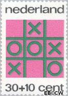 Nederland NL 1039  1973 Spelletjes 30+10 cent  Gestempeld