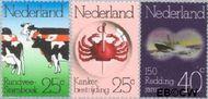 Nederland NL 1052#1054  1974 Diverse jubilea  cent  Gestempeld