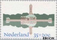 Nederland NL 1068  1975 Architectuur 35+20 cent  Gestempeld