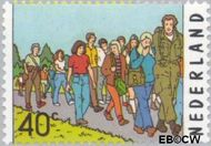 Nederland NL 1092  1976 Vierdaagse Nijmegen- 60e editie 40 cent  Gestempeld