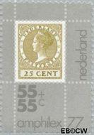 Nederland NL 1100  1976 Int. Postzegeltentoonstelling Amphilex '77 55+55 cent  Postfris
