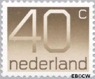 Nederland NL 1111  1976 Cijfer type 'Crouwel' 40 cent  Postfris