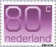 Nederland NL 1118  1991 Cijfer type 'Crouwel' 80 cent  Gestempeld