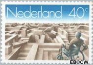 Nederland NL 1143  1977 Arbeidszorgbureau Gehandicapten 40 cent  Gestempeld