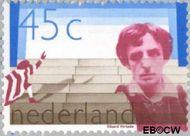 Nederland NL 1166#  1978 Verkade, Rutger  cent  Gestempeld