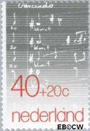 Nederland NL 1175  1979 Mij tot Bevordering der Toonkunst 40+20 cent  Gestempeld