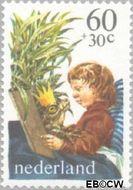 Nederland NL 1212  1980 Kind en boeken 60+30 cent  Postfris