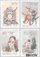Nederland NL 1275#1278  1982 Kind en dier  cent  Gestempeld