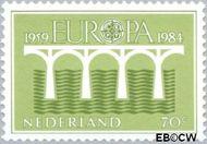 Nederland NL 1308  1984 C.E.P.T.- Brug 70 cent  Postfris