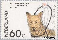 Nederland NL 1321#  1985 Kon. Ned. Geleidehondfonds  cent  Gestempeld