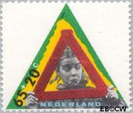 Nederland NL 1342  1985 Kind en verkeer 65+20 cent  Gestempeld